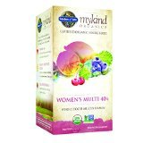 Garden of Life mykind Organics Women's Multi 40+, 120 Organic Tablet (Dog Tablets 120)