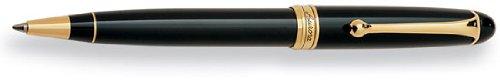 Aurora 88 Gold Plated Black Resin Ballpoint Pen - (Aurora 88 Ballpoint Pen)