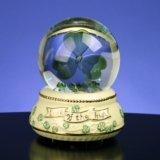 Irish Shamrock - Water Globe