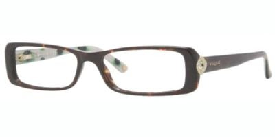 Vogue Vo2694b Eyeglasses W656 Havana Demo Lens 51 15 135