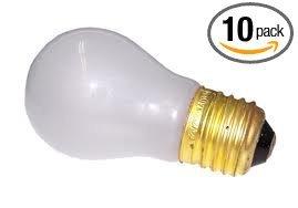 40 watt frosted appliance bulb - 8