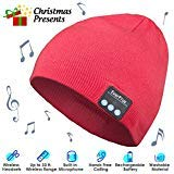 Best Headphones For Listening To Musics - Bluetooth Beanie, Wireless Bluetooth Hat Control Panel, Removable Review