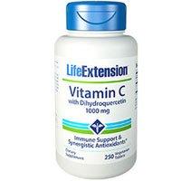 Life Extension Vitamin C 1000mg W/dihydroquercetin 250 Tab