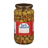 Pimiento Stuffed Olives (Early California Manzanilla Pimiento Stuffed Olives 21oz)