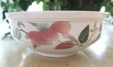 MIKASA SILK FLOWERS F3003 VEGETABLE 8 1/2 inch SERVING BOWL