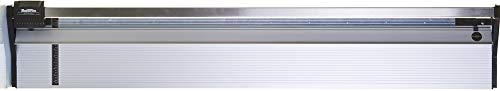 Rotatrim 60350 Technical Series 85'' (2150 mm) Rotary Trimmer, 1/2'' Stainless Steel Guide Rail Completely Eliminates Head Swivel, All-metal Construction, Maximum Cut Depth of Up to 4mm by Keencut (Image #1)