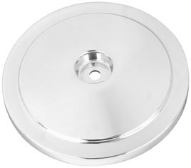 - S&S Billet Domed Bobber Air Cleaner Cover - One Size