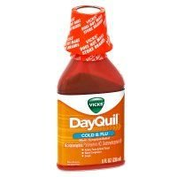(Vicks Dayquil Cold and Flu Relief Liquid, 8 Fluid Ounce - 12 per case.)