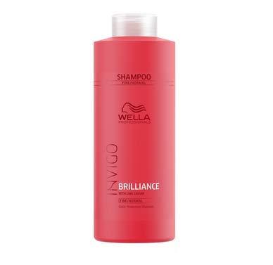 Wella INVIGO Brilliance Shampoo for Fine Hair - 33.8oz Liter by Wella