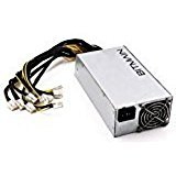 AntMiner Power Supply (APW3++ 1200W@110v 1600W@220v w/ 10 Connectors) by Bitmain