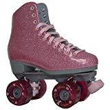 Sure-Grip Pink Shimmer Glitter Roller Skates - Limited Edition (Mens 5 / Womens 6-6.5)