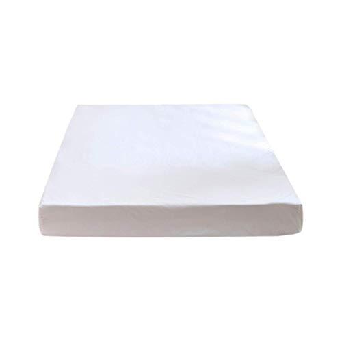 Elevin(TM)  Waterproof Mattress Bedspread Hotel Solid Color Sanding Waterproof Bed Cover (B) -