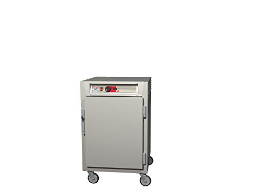 - Metro C585L-NFS-LPFS C5 8 Series Pass-Thru Heated Holding Cabinet, 1/2 Height, Aluminum, Full Length Solid Door/Full Length Solid Door, Lip Load Aluminum Slides