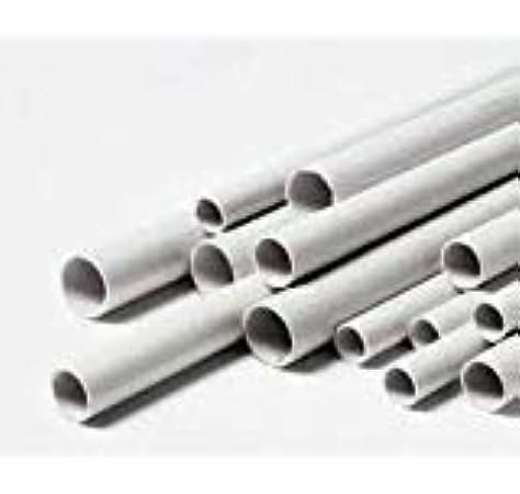 Tubo rigido de PVC gris pasacables: Amazon.es: Bricolaje y herramientas