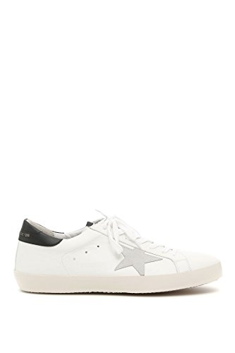 The Golden Goose Men's G32ms590e73 White Leather Sneakers by The Golden Goose
