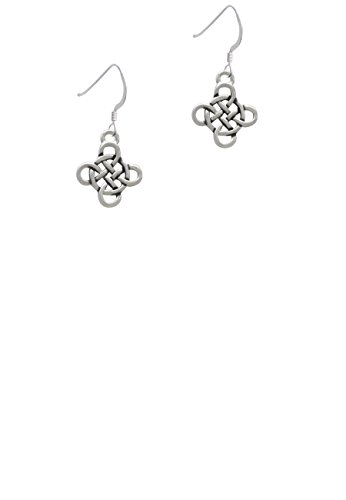 Celtic Knot Cross - French Earrings