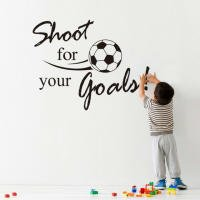 Ieasycan 1 Set Shoot For Your Goals Black With Football Quot