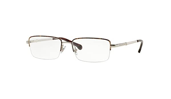 6aea505304 Brooks Brothers BB1035 Eyeglass Frames 1658-53 - Silver Tort BB1035-1658-53  at Amazon Men s Clothing store