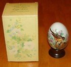 Avon Porcelain Egg - Avon Four Seasons Porcelain Egg Series - SPRING A New Beginning 1984