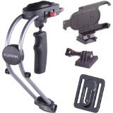 SteadiCam SMOOTHEE-GPIP5 Mount for GoPro HD Hero and iPhone 5, Multi Color (Best Steadicam For Iphone)