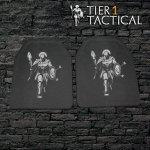 AR500 (AR650) 10x12 level III+ set of - Level Iii Body Armor