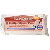 Tranquility 2070 TopLiner Booster Pad Medium Diaper Inserts 200/Case