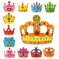 BUNITA,EVA DIY Crown Enviromental-friendly 3D EVA Handmade Craft Gifts Kits Birthday Crown DIY Hat Craft Toy for Children,Shape toys