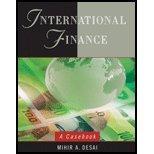 International Finances - Casebook (07) by Desai, Mihir A [Hardcover (2006)]