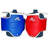 Star Sports Taekwondo WTF Sparring Gear Chest Guard (S(kids#1))