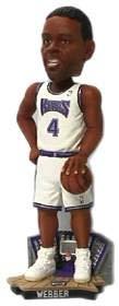 (Sacramento Kings Chris Webber 2002 Bobble Head Doll)