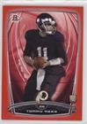 Tommy Rees #121/199 (Football Card) 2014 Bowman - Rookies - Red #82