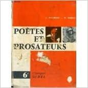 Livres Gratuits A Telecharger Poetes Et Prosateurs 6e