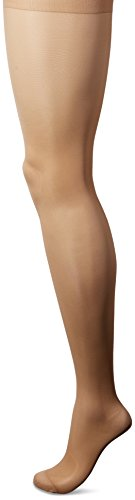 L'eggs Women's Sheer Energy 2 Pair Control Top Reinforced Toe Medium Support Panty Hose, Nude, B ()