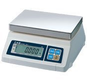 (CAS SW-20D Food Service Scale, 20 x 0.01 lbs, Dual Display, Legal for Trade)