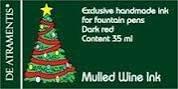 Mulled Wine/Mulled Red Premium Fountain Pen Bottled Ink by De Atramentis (Best Bottled Mulled Wine)