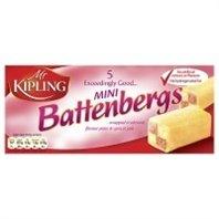 Mr Kipling Mini Battenberg Cakes 150g