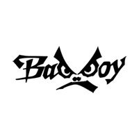 Badboy Writing Funny Symbol Funny Bumper Sticker Car Van Bike