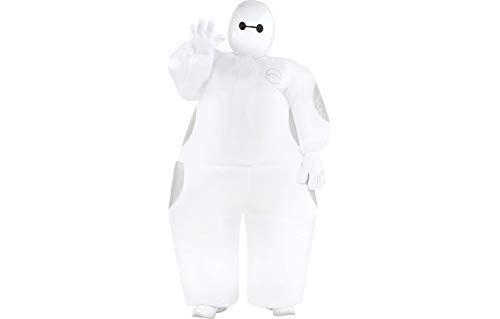 Party City Big Hero 6 Inflatable Baymax Halloween Costume for Boys, Standard, with Included Accessories -