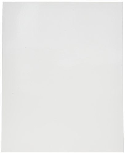 Oxford Showfolio Laminated Twin Pocket Folders, Letter Size, White, 25 per Box (51704EE)