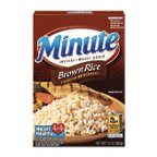 Minute Brown Rice 10 minute Instant Whole Grain Rice 14 oz (Pack of 12) by Minute