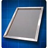 2 Pack 180 Aluminum Frame 20''X 24'' X 1 3/8 Square tubing Mesh White