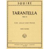 Squire, William Henry Tarantella Op. 23. For Cello and Piano. Edited by Fournier. by International ()