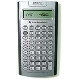 Texas Instruments TI BA II Plus Professional Financial Calculator - 10 Character(s) - LCD - Battery Powered IIBAPRO/CLM/4L1/A (10 Bii Calculator)
