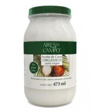 Aceite de Coco Orgánico Extra Virgen 473OZ.