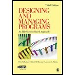 Download Designing & Managing Programs- An Effectiveness-Based Approach (3rd, 08) by [Paperback (2007)] ebook