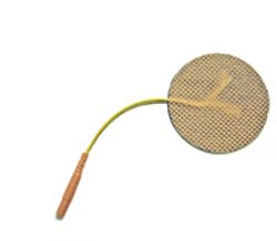 """AccuMed Trode - 2"""" Round Electrodes - 1 Case (10-Packs - 4 per Pack)"""