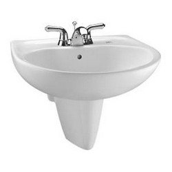 Toto LHT242.4G#03 Prominence Wall Mount Lavatory with SanaGloss, Bone 03 Toto Wall Mount