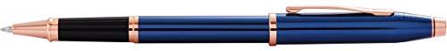 Cross Century II Translucent Cobalt Blue Lacquer Rollerball Pen