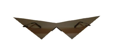 Pointy Nose Costume (Mini black pointy v costume cosplay glasses)