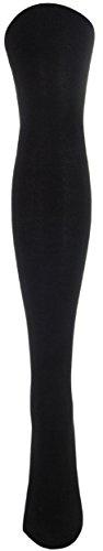 J.Ann Women's 1-Pair/Pack Over Knee High Socks, Size 9-11-Black Ann Wide Leg
